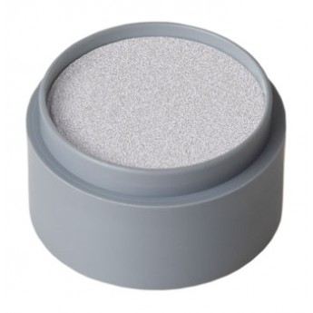 Metallic Silver Grimas Face Make Up 25ml