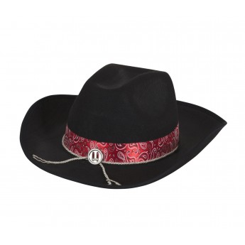 Cowboy Hat With Red Band - The Mad Hatter Joke and Fancy Dress Shop ... 5a36f1e1860