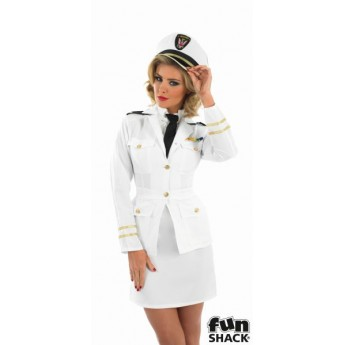 Lady Naval Officer Costume