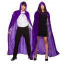 Hooded Velvet Cape