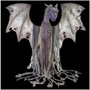 Winter Dragon Animated Halloween Prop