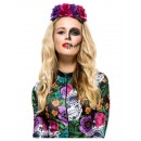 Day Of The Dead Rose Headband