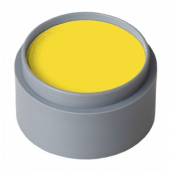 Bright Yellow Grimas Face Paint 15ml